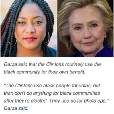 "That's the Bay Area's own Alicia Garza, who coined the term Black Lives Matter and co-founded the Movement for Black Lives. They recently issued ""A Vision for Black Lives,"" a platform with planks on the issues the Black community cares most about and suggestions on how to demand and win support from candidates for each those issues."