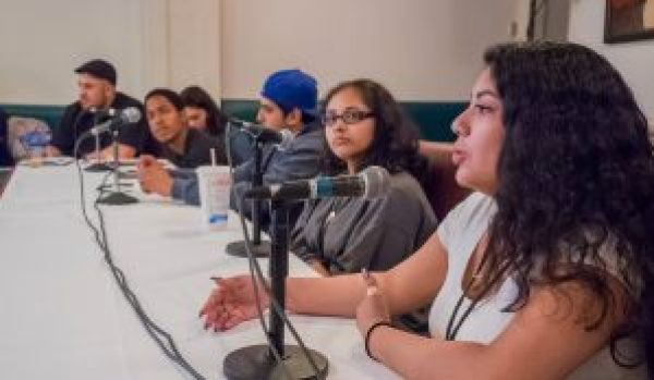 Younger people at the conference, many incarcerated themselves or children of current or formerly incarcerated parents, offer their perspectives during a panel discussion on Sept. 9, 2016, in Oakland. – Photo: Scott Braley