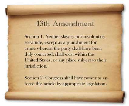 13th-amendment-on-parchment