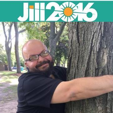 Michigan Green Erin Fox agrees with Davd Cobb that there are worse things to hug than trees.