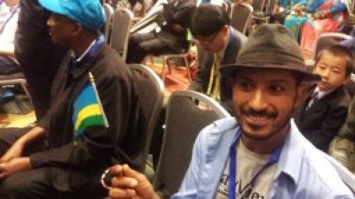Fellow journalist Jeremy Miller had also registered and been admitted – but only until someone either recognized Ann or spotted Jeremy's Bay View t-shirt, the Bay View having carried Ann's coverage of Rwanda for years to the Rwandan government's chagrin.