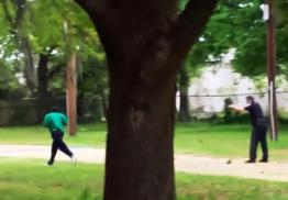 Killer cop Michael Slager, 33, calmly shoots at a fleeing Walter Scott, 50.
