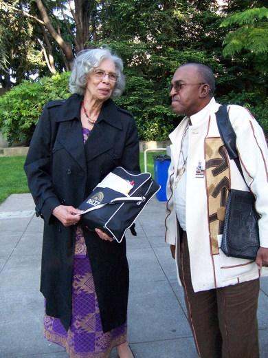 Honoring Sister Makinya Sibeko-Kouate, Queen Mother of Kwanzaa, who brought Black Studies to the East Bay