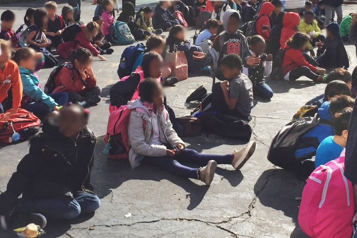Starr-King-students-sit-on-asphalt-playground-before-school-segregated-by-class-race-©-2019-used-w-permission, Starr King Elementary, segregation and wealth: The politics of liberal San Francisco's 'separate but equal', Local News & Views