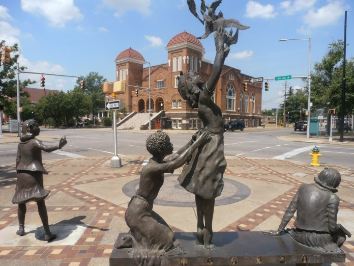 Sculptures-of-'four-little-girls'-murdered-in-16th-St-Baptist-Church-bombing-in-Bombingham-Ala.-by-Jahahara, When Our Ancestors Speak … LISTEN!, Culture Currents