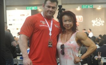 Alex Betts and Joan Liew