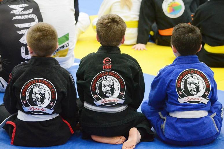 Kids BJJ Springfield Fight Club Brazilian Jiu Jitsu