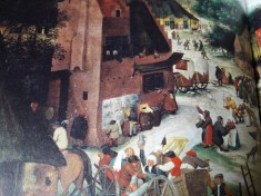 banden_de pisser 2_28b_pieter brueghel de jongere_rond 1637_kermis met theater en processie_detail