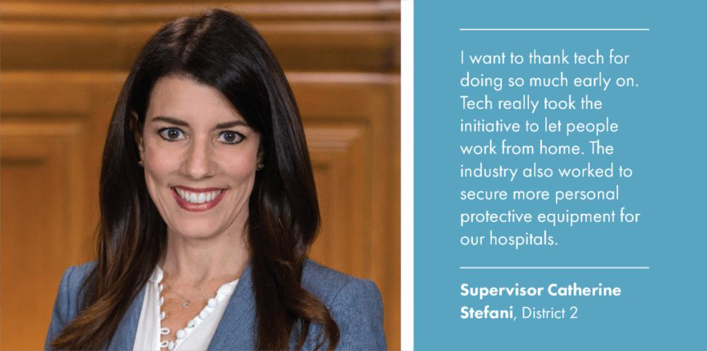District 2 Supervisor Catherine Stefani
