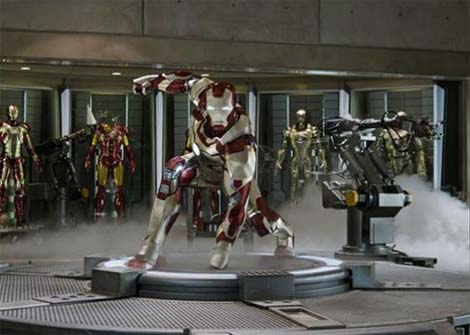 Iron Man 3 film.