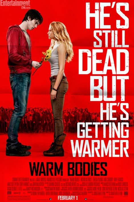 Warm Bodies zombie poster.