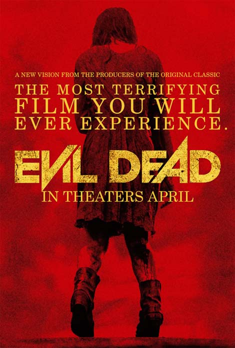 Evil Dead... evil poster.