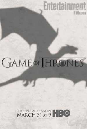 Game of Thrones season 3... Dragon on.