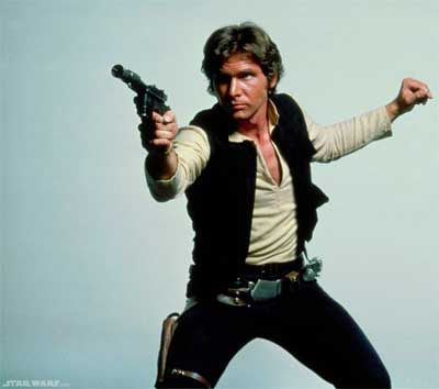 Harrison Ford to return as old Han Solo in next new Star Wars movie.