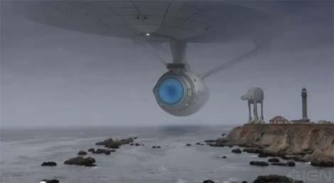 Enterprise versus Death Star. Who wins?