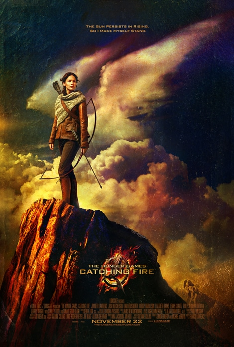 Hunger Games Catching Fire.