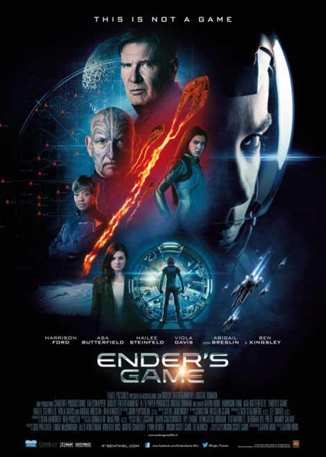 Ender's Game... see you in November.