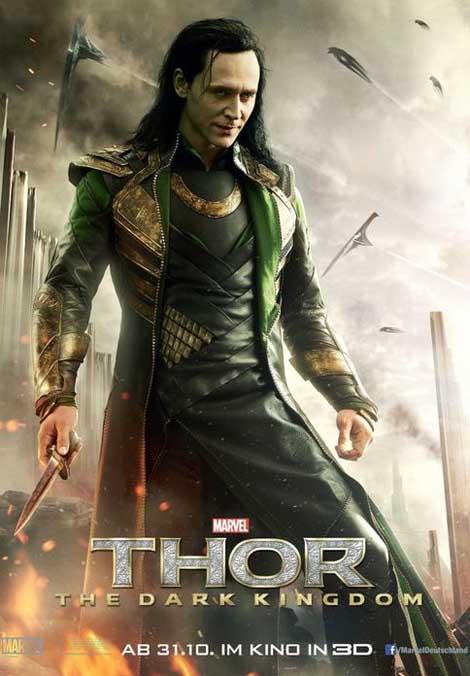 Thor the Dark World... Loki isn't low key.