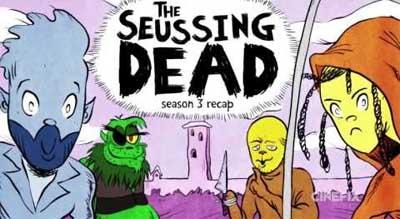 The Walking Dead... bedtime tale Seuss-style.