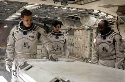 The fourth trailer for Christopher Nolan's SF movie Interstellar has landed.