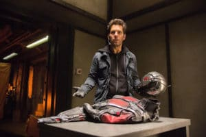 As ANT-MAN Paul Rudd's Scott Lang has plans to stop the criminnal foolishness besides raiding a giant-sized picnic basket in Peyton Reed's modest costume caper.