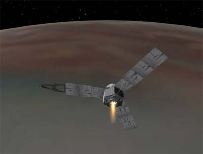 By Jupiter! Juno space probe arrives at the big'un.
