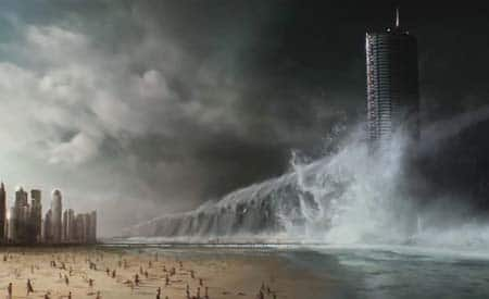 Geostorm movie trailer (weather gets evil).