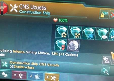 Construction ships that build Dyson Spheres!