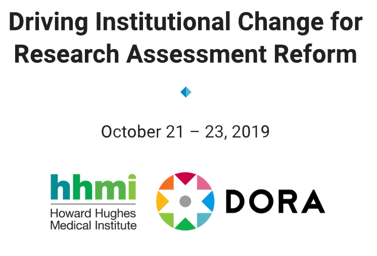 DORA - Driving Institutional Change for Research Assessment Reform