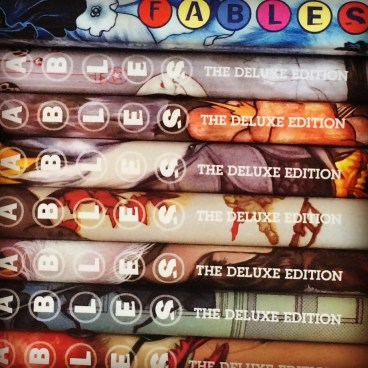 fables deluxe editions