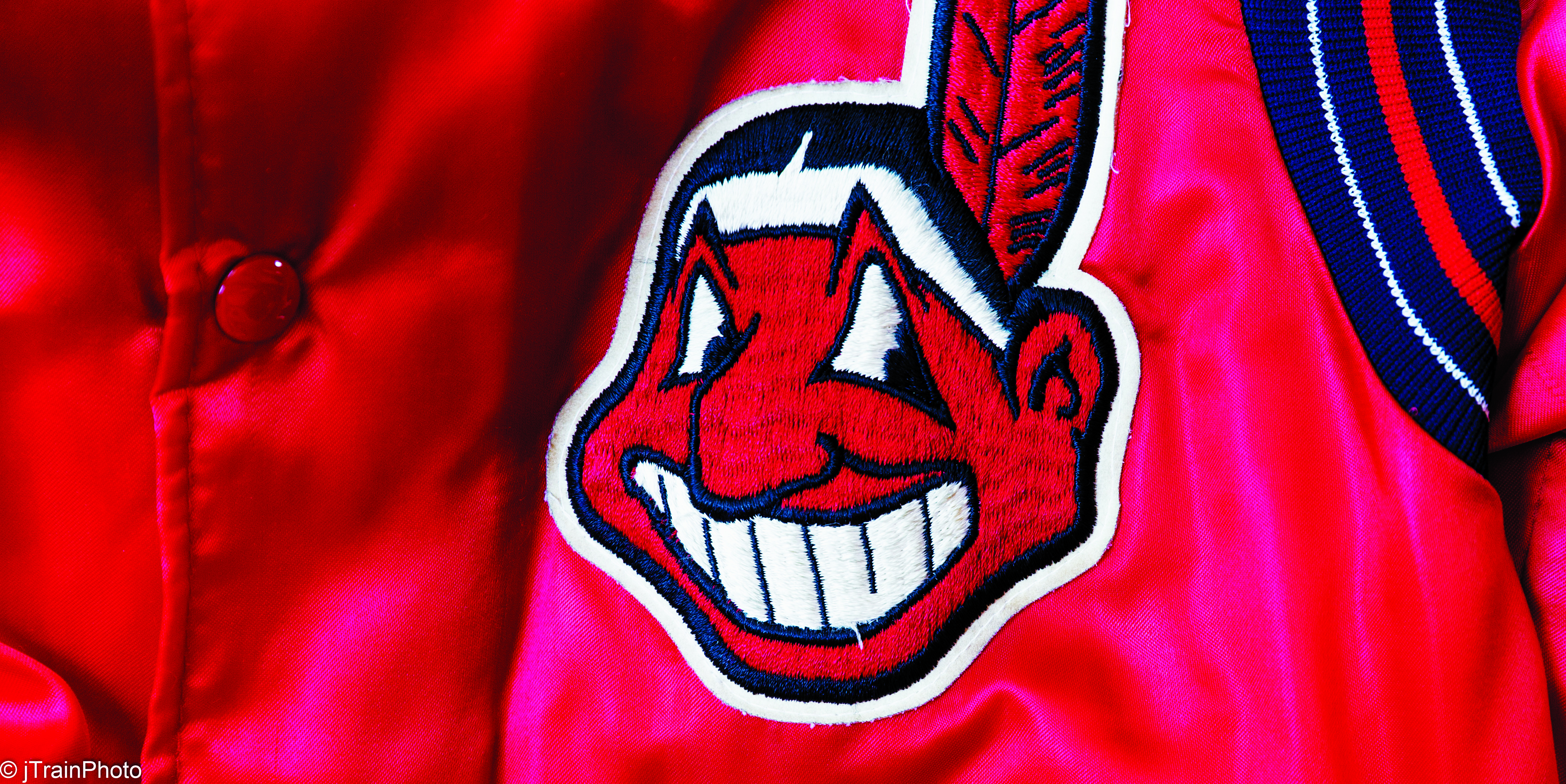 f58698c2681780 Chief Wahoo has sat comfortably on the uniforms of the Cleveland Indians  since 1948. Beginning in 2019, however, the logo – a caricature of a  grinning ...
