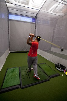 Whole in One Golf Camp     The Ohio State University main campus in our state of the art student  recreation center  We will be using one gymnasium  the golf hitting  stations