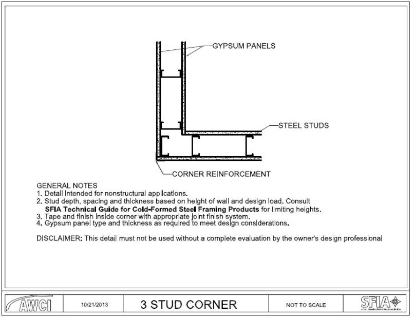 Cold Formed Steel Framing Details | Frameswalls.org