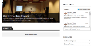 ForwardTirana faqja kryesore