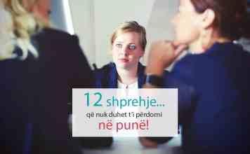 12 shprehje që nuk duhet t'i përdorni në punë