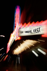 SF Indie Fest Roxie Theatre Marquee