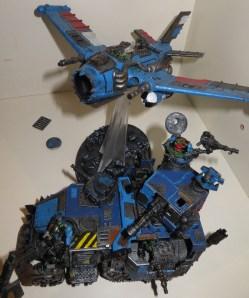 40K Ork Deathskull Bomma and Battlewagon
