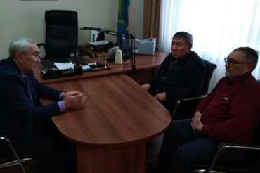 Дайрабаев Ж. встретился с Председателями филиала РОО СФК