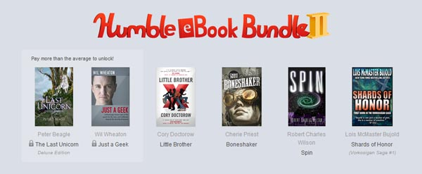 Humble eBook bundle II