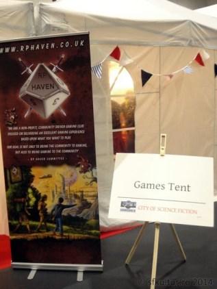 Worldcon 2014 - Fan Village 03 - Game Tent