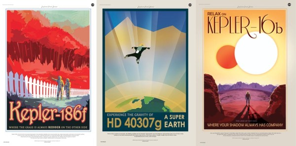 NASA Travel Posters