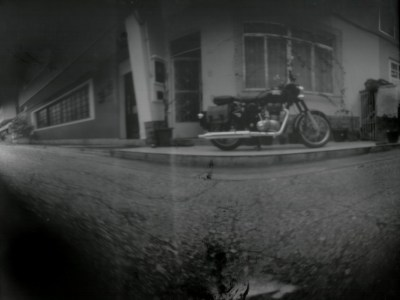 Fotografia PinHole de uma Classic 500