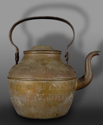 Teapot Before Treatment