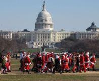Santarchy, Washington, DC, Dec. 14