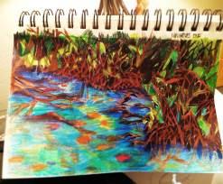 Mangrove Forest Sketch