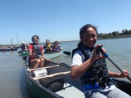 A full day on the canoes!