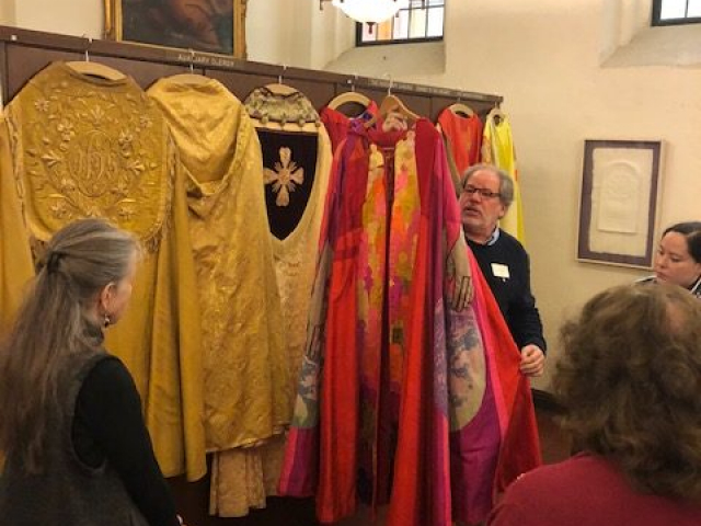 2018 - Lunch & Learn: Tour of Grace Cathedral
