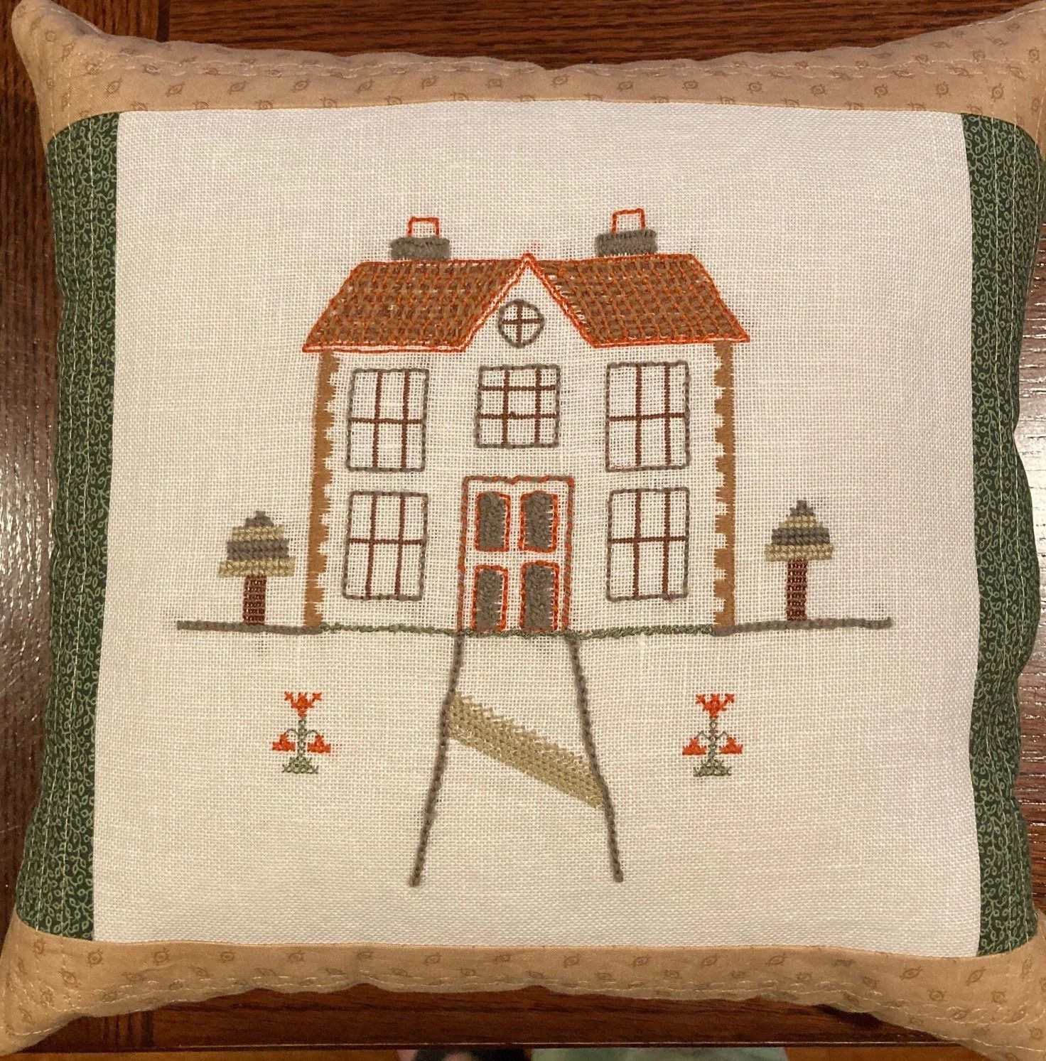 Introduction to Embroidery: Cottage, by Melissa