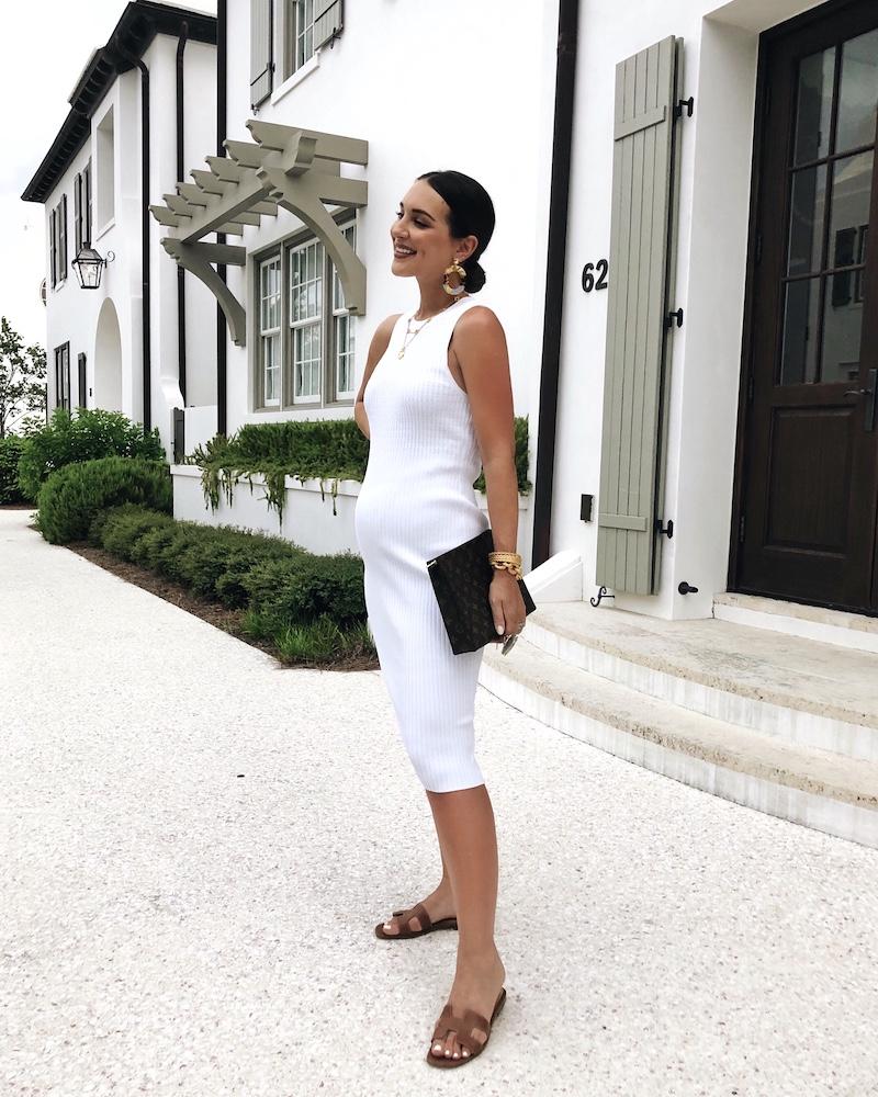 rent the runway white dress