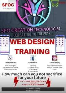 SFOC TECHNOLOGIES TRAINING